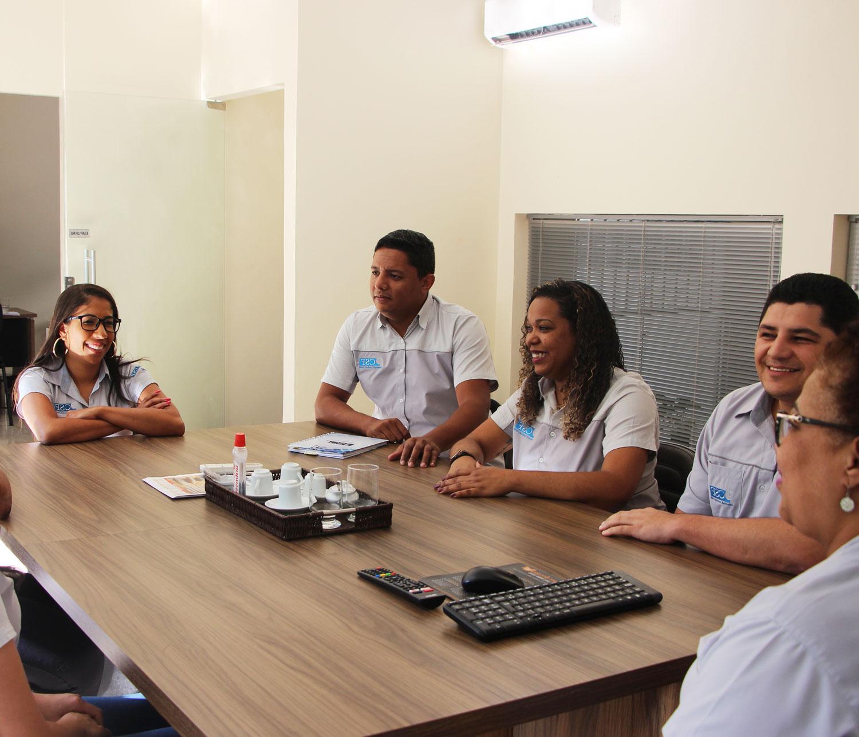 Agradecimento 10 Anos de parceria – Naiara Fonseca, Dep. Fiscal