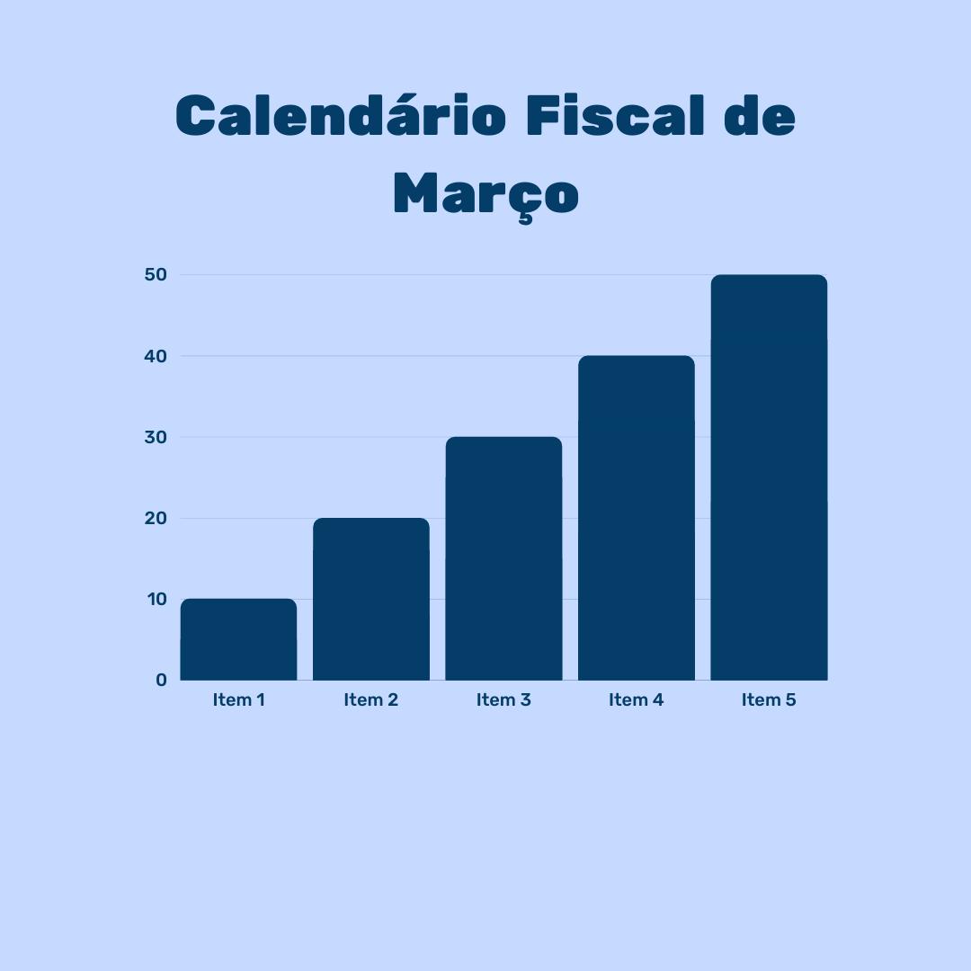 Calendário Fiscal – Março