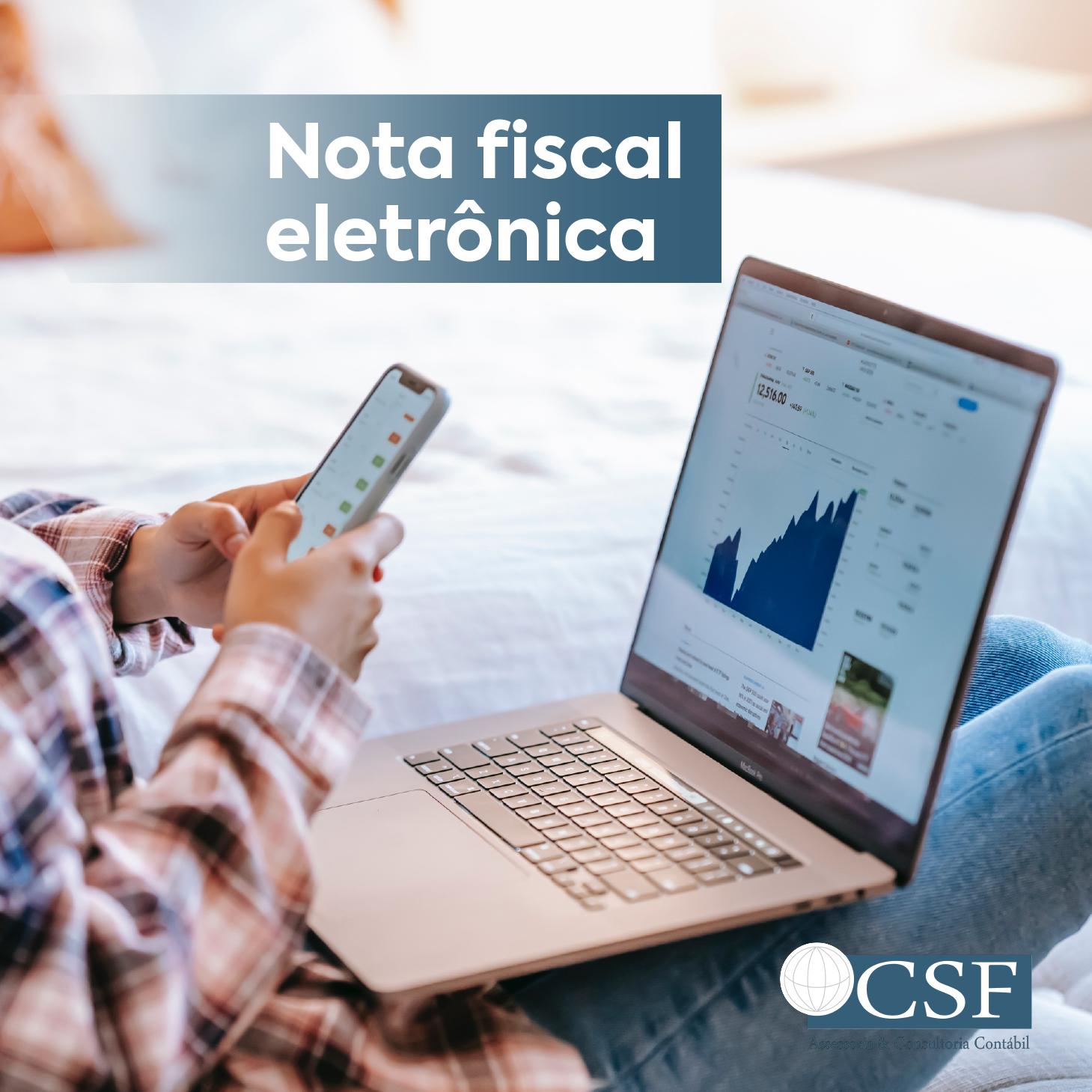 O que é a nota fiscal eletrônica – NF-e?
